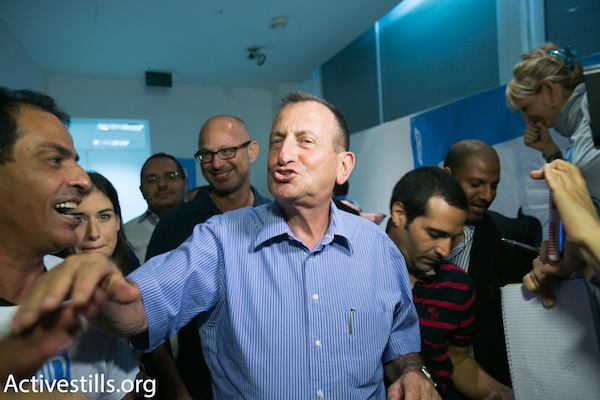 Tel Aviv Mayor Ron Huldai (Photo by Activestills.org)