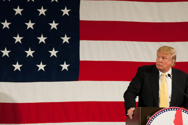 Republican presidential nominee Donald Trump. (Andrew Cline / Shutterstock.com)