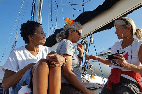 On the boat. (Yudit Ilany)