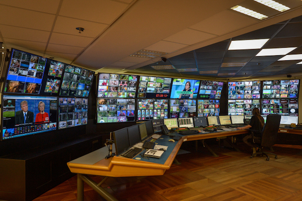 A television control room, illustrative photo by Flash90.