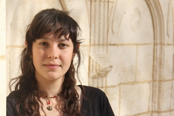 Israeli conscientious objector Atalya Ben-Abba. (Yona Benstein)