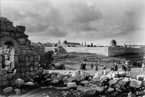 Jerusalem at the beginning of the 20th century. (Library of Congress)