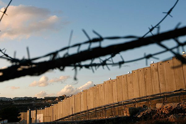The West Bank separation wall. (Miriam Alster/Flash90)