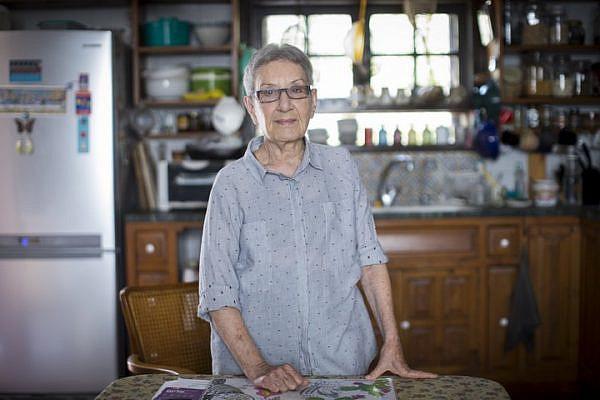 Dr. Ruchama Marton in her home in Tel Aviv. (Shiraz Grinbaum/Activestills.org)