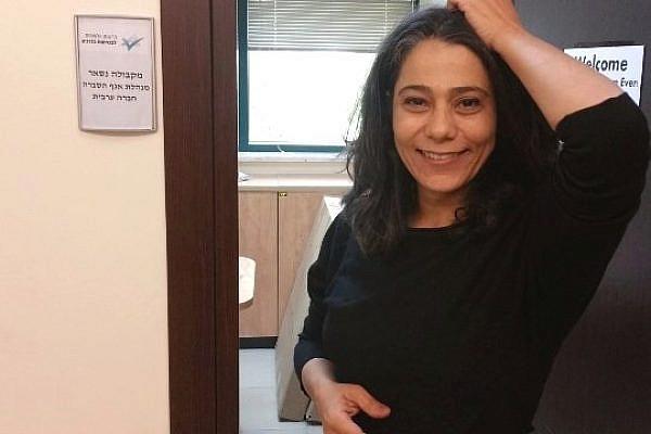 Palestinian journalist Makbula Nassar.