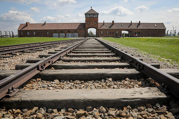 The Auschwitz-Birkenau Concentration Camp in Poland. Auschwitz was a network of concentration and extermination camps built and operated in occupied Poland by Nazi Germany during the Second World War. (Isaac Harari/Flash90)