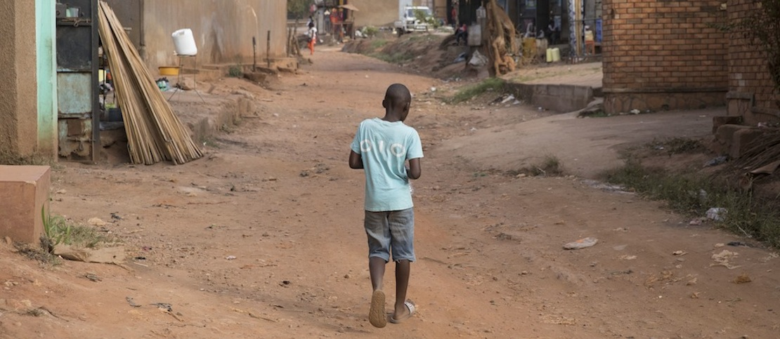 Najana Kombi, the refugee neighborhood where many Eritrean asylum seekers who came from Israel live. (Oren Ziv/Activestills.org)