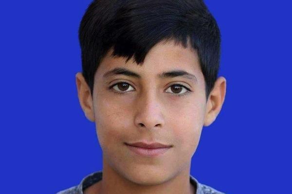 Layth Abu Na'im, 16, was killed by Israeli security forces on January 30, 2018. (Courtesy of B'Tselem)