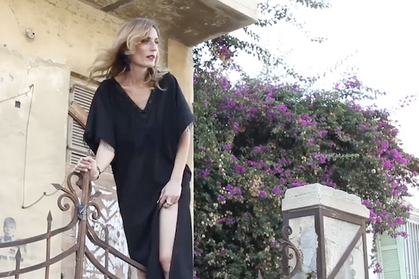 Israeli shoe designer Gal Shukroon. (Screenshot)