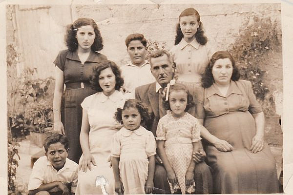 Ahmad Badawi Mustafa Ayoub with his family. (Courtesy of Samer Badawi)