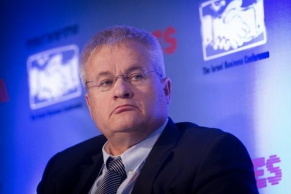 Israeli businessman and former IDF major general Israel Ziv. (Miriam Alster/Flash90)