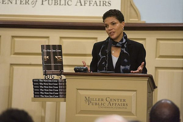 Michelle Alexander speaks at the Miller Center Forum, December 3, 2010. (Miller Center/CC BY 2.0)