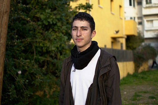 Conscientious objector Roman Levin. 'My refusal is an act of protest against an occupation that has lasted more than 50 years and of solidarity with the Palestinian people in the West Bank and Gaza.' (Ido Ramon/Mesarvot).