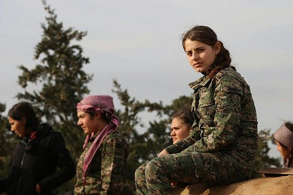 Kurdish fighters in Northern Syria, December 16, 2014 (Kurdish YPG fighters/CC BY 2.0).