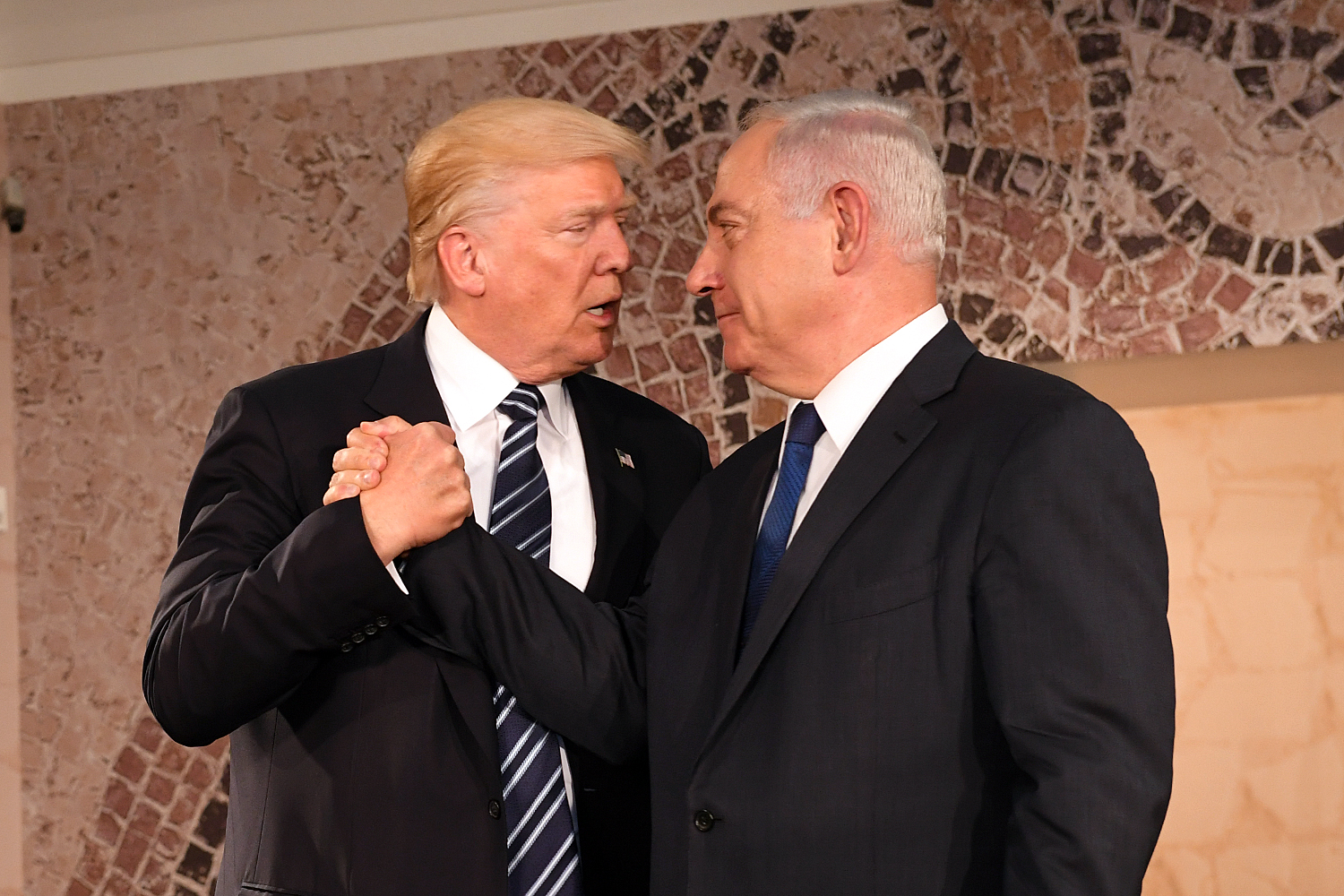 President Trump at the Israel Museum, Jerusalem, May 23, 2017. (U.S. Embassy Tel Aviv)