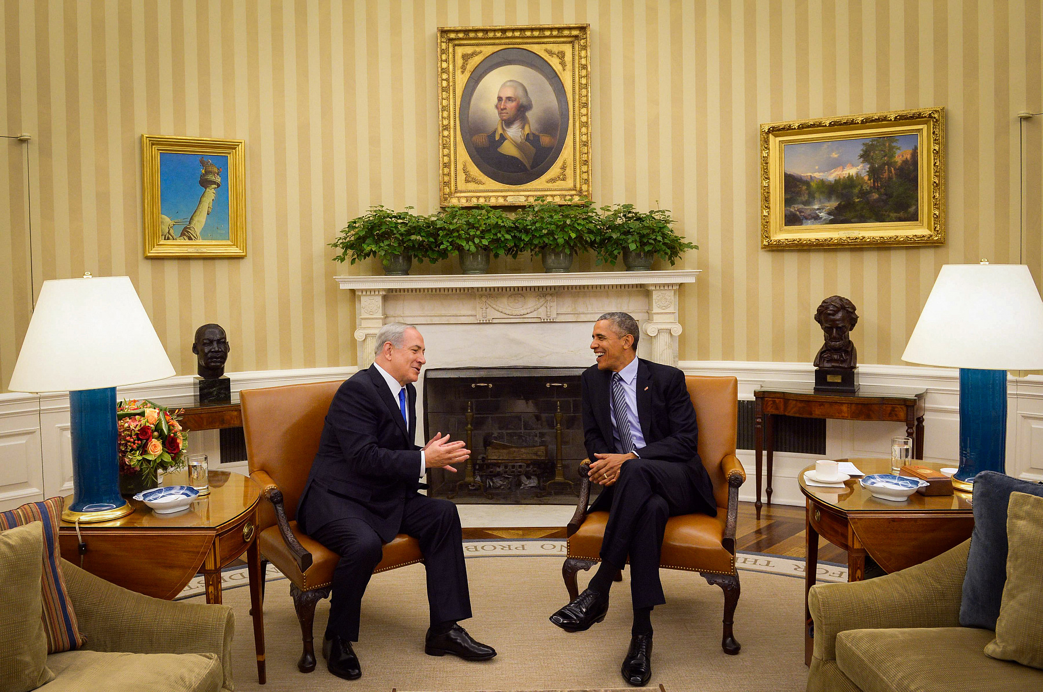 From Clinton to Obama, U.S. peace deals have paved the path to apartheid