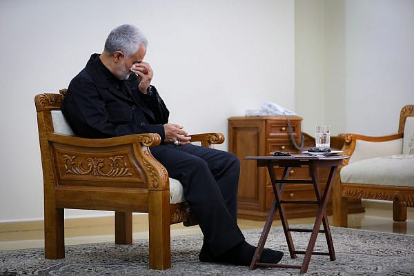 Revolutionary Guard Major-General and commander of the Quds Forces Qassem Soleimani, 2015.