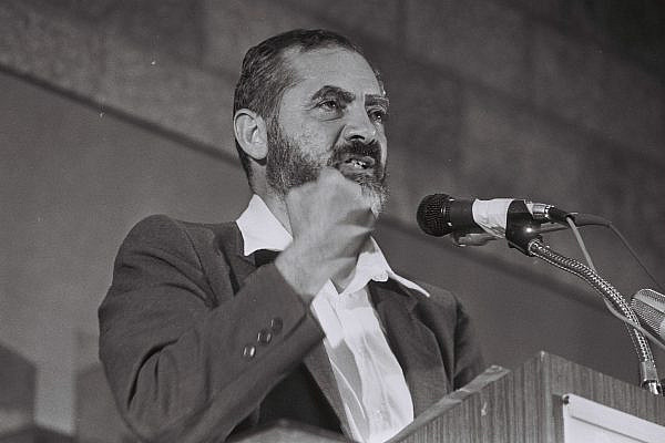 Rabbi Meir Kahane, August 24, 1984. (Yossi Zamir/Flash90)