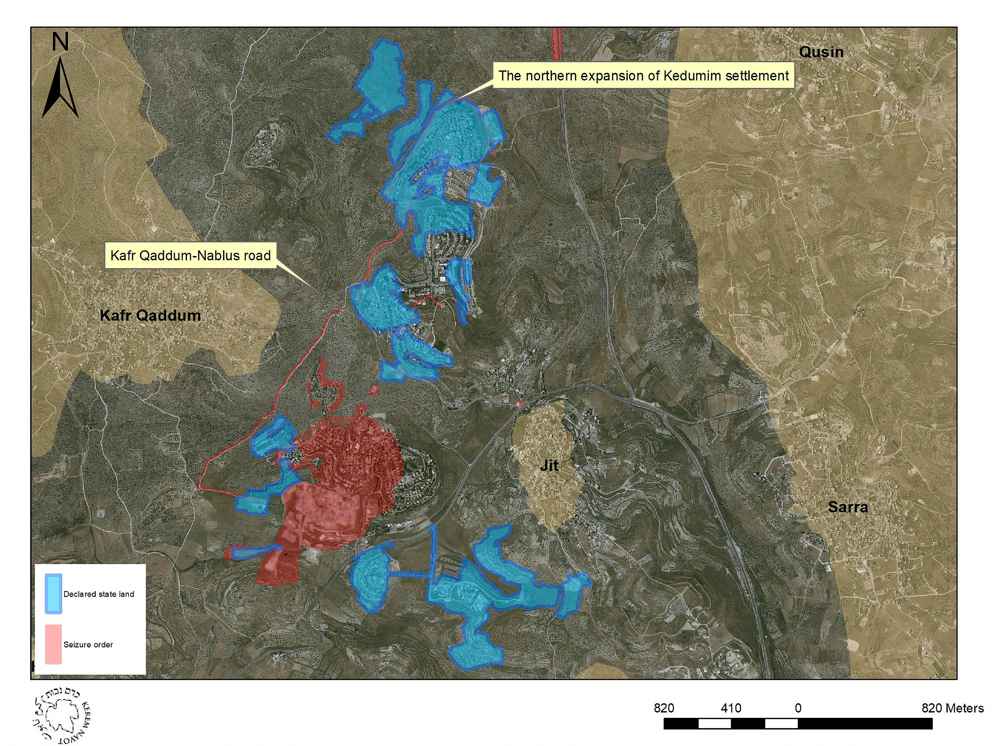 How do settlers take over Palestinian land? One road gives the answer