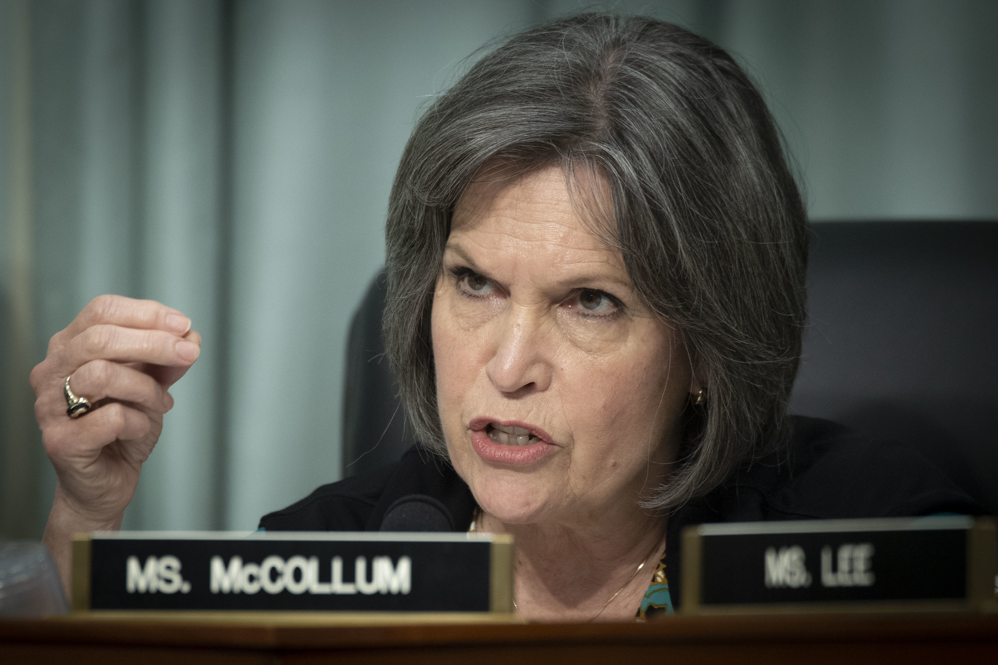 Rep. Betty McCollum (D-Minn.) at the Rayburn House Office Building, in Washington, D.C., April 9, 2019. (Preston Keres/USDA)