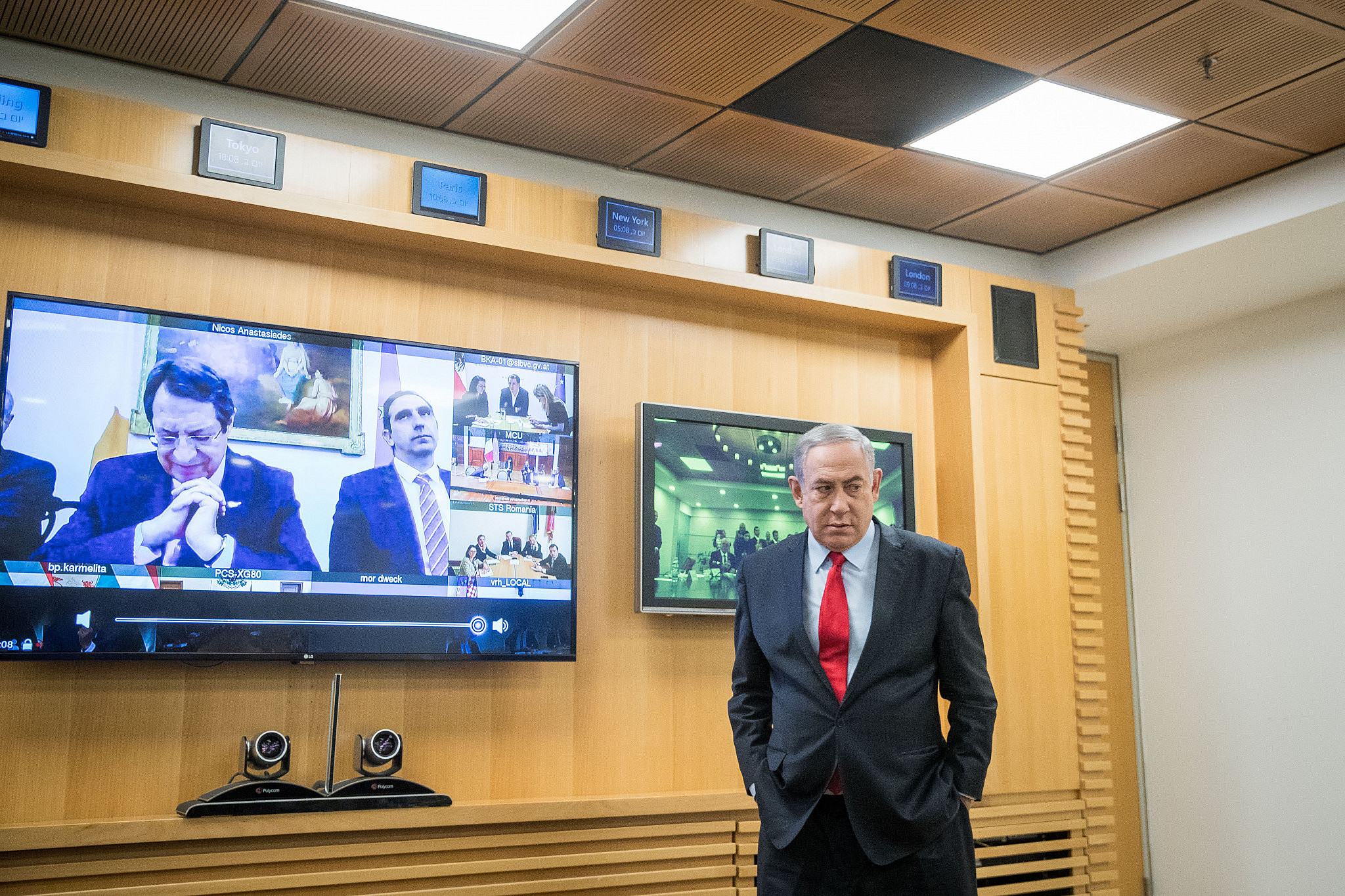 Netanyahu urges formation of emergency unity govt