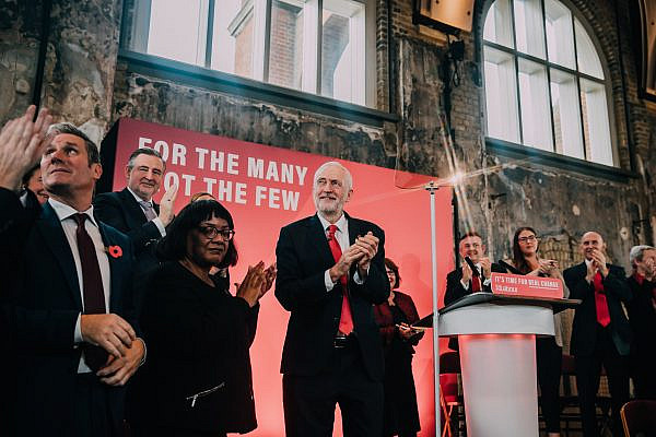 Launching the 2019 Labour Party General Election campaign (Jeremy Corbyn/Flickr)