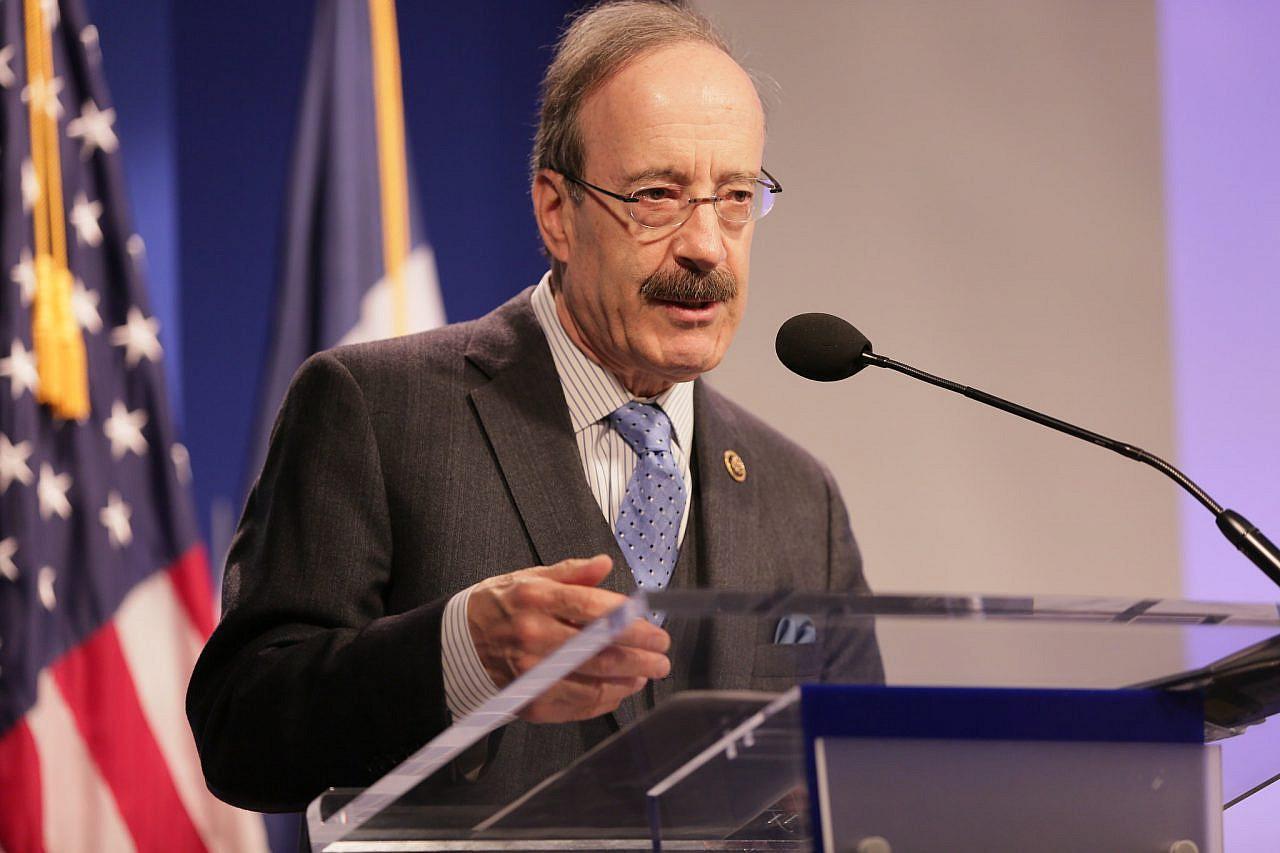 Democratic Congressman Eliot Engel speaks at the Wilson Center, Washington, DC, April 12, 2016. (Wilson Center Maternal Health Initiative/CC BY-NC-ND 2.0)