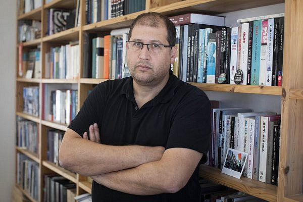 Israeli human rights lawyer and Yesh Din legal counsel Michael Sfard. (Oren Ziv)