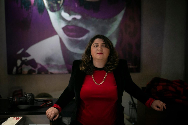Human rights lawyer and Mizrahi feminist activist Sapir Sluzker-Amran. (Shiraz Grinbaum)