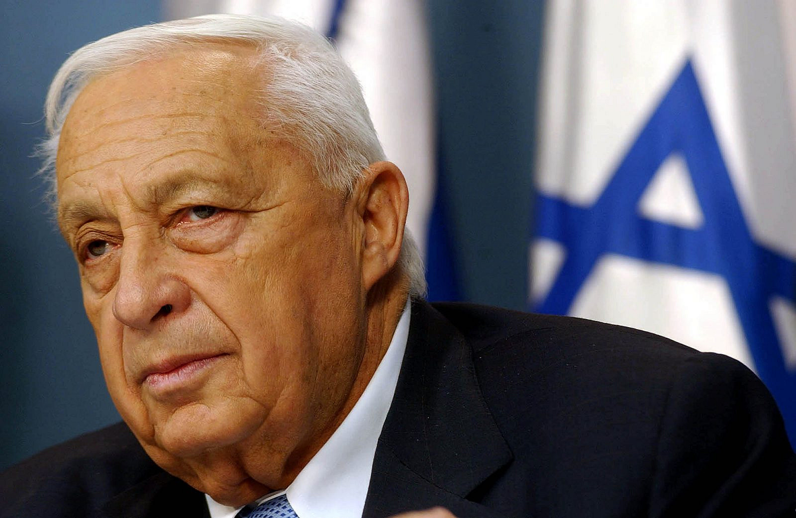 Portrait of former Israeli Prime Minister, Ariel Sharon. (Flash 90)