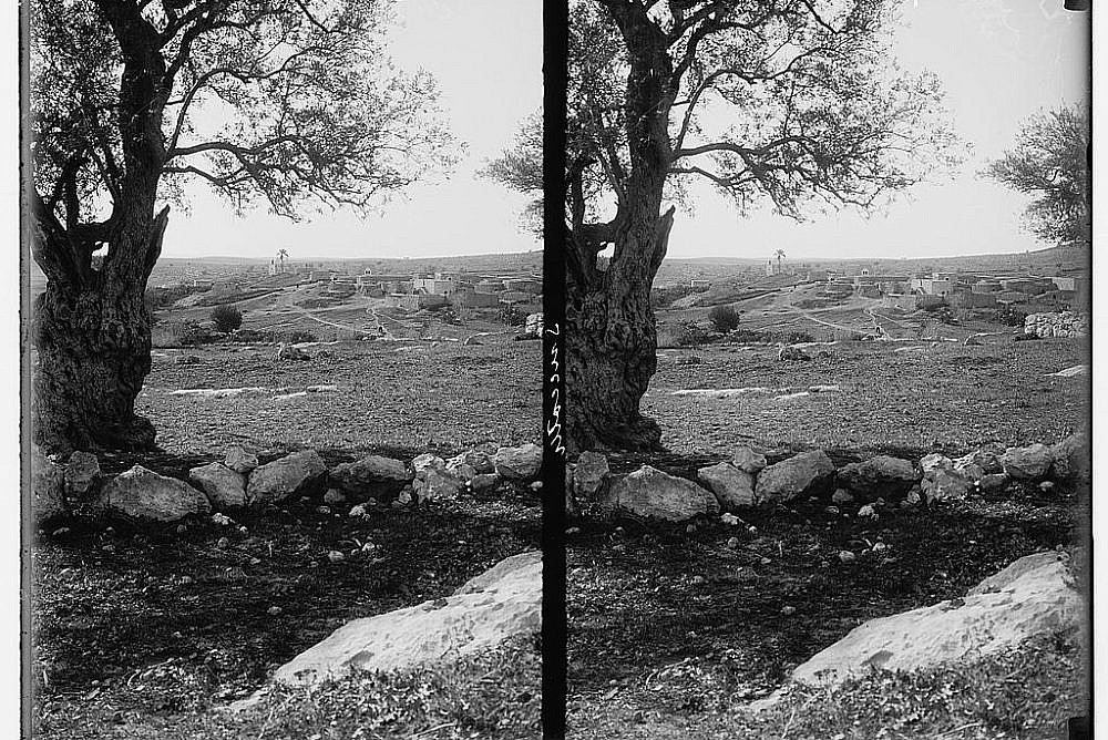 The Village of Zachariah in Southern Palestine, 1900-1926. (American Colony Jerusalem/Library of Congress)