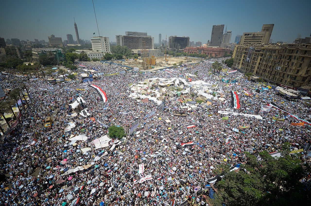 Demonstrations in Tahrir Square in Cairo, July 29, 2011. (Ahmed Abd El-Fatah/Wikimedia)