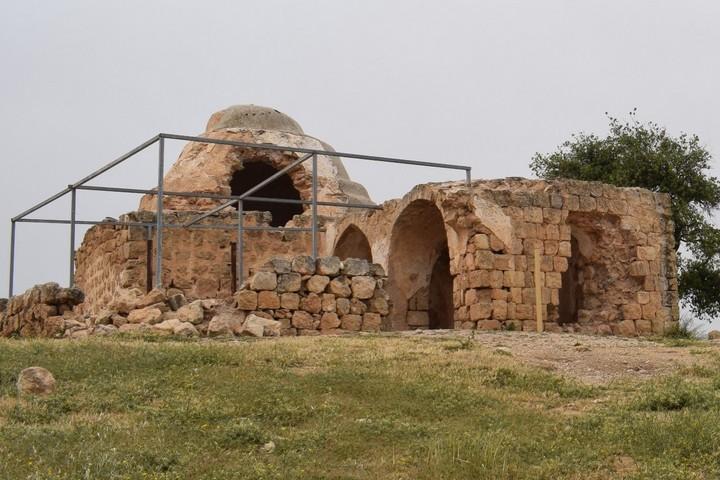 Sheikh Bilal ibn Rabah Maqam, near Nablus, West Bank. (Nurit Popper)