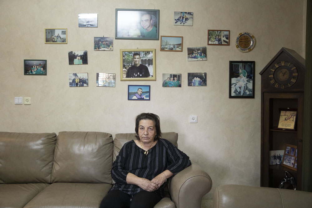 Jamila Asleh, mother of Aseel Asleh. 'You bear not only the personal pain of the loss of your loved one, but become a symbol of the national struggle.'