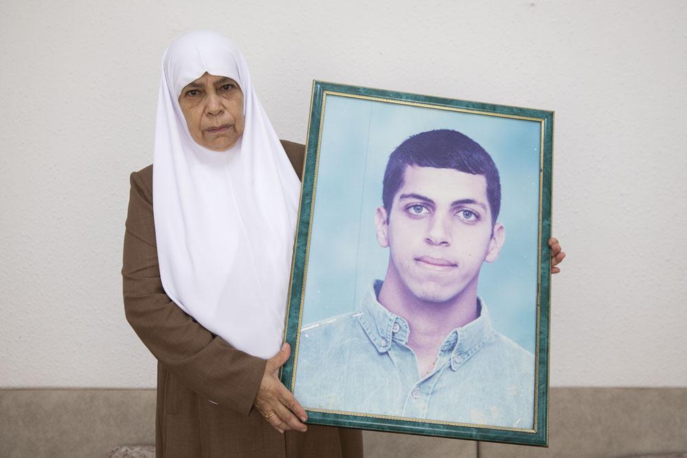Hadiya Hussein, mother of Ahmad Jabareen. (Oren Ziv)