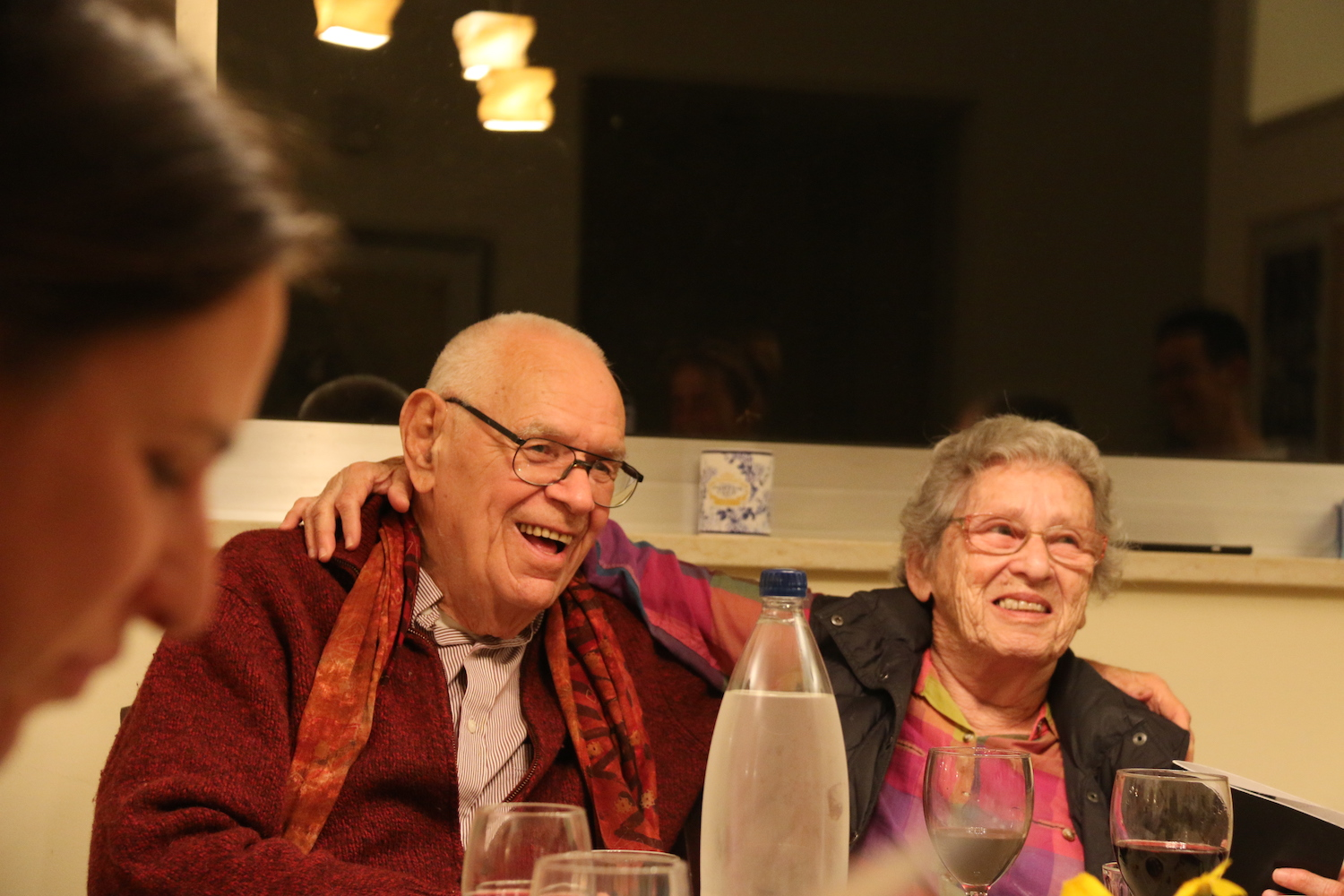 Reuven and Dafna Kaminer. (Courtesy of the Kaminer family)