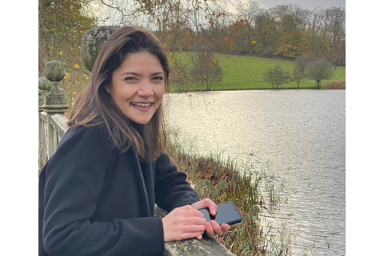 Tala Shurrab in Cambridge, November 2020. (Photo courtesy of Tala Shurrab)