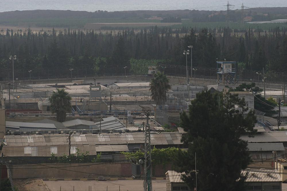A view of Israeli military Prison 6. (Oren Ziv)