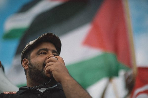 Protest in solidarity with Gaza in Montreal, Quebec, Canada, July 15, 2012. (Heri Rakotomalala/Flickr)