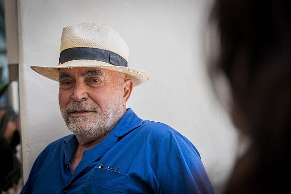 Ezra Nawi arrives to the Jerusalem Magistrate's Court, July 16, 2019. (Yonatan Sindel/Flash90)