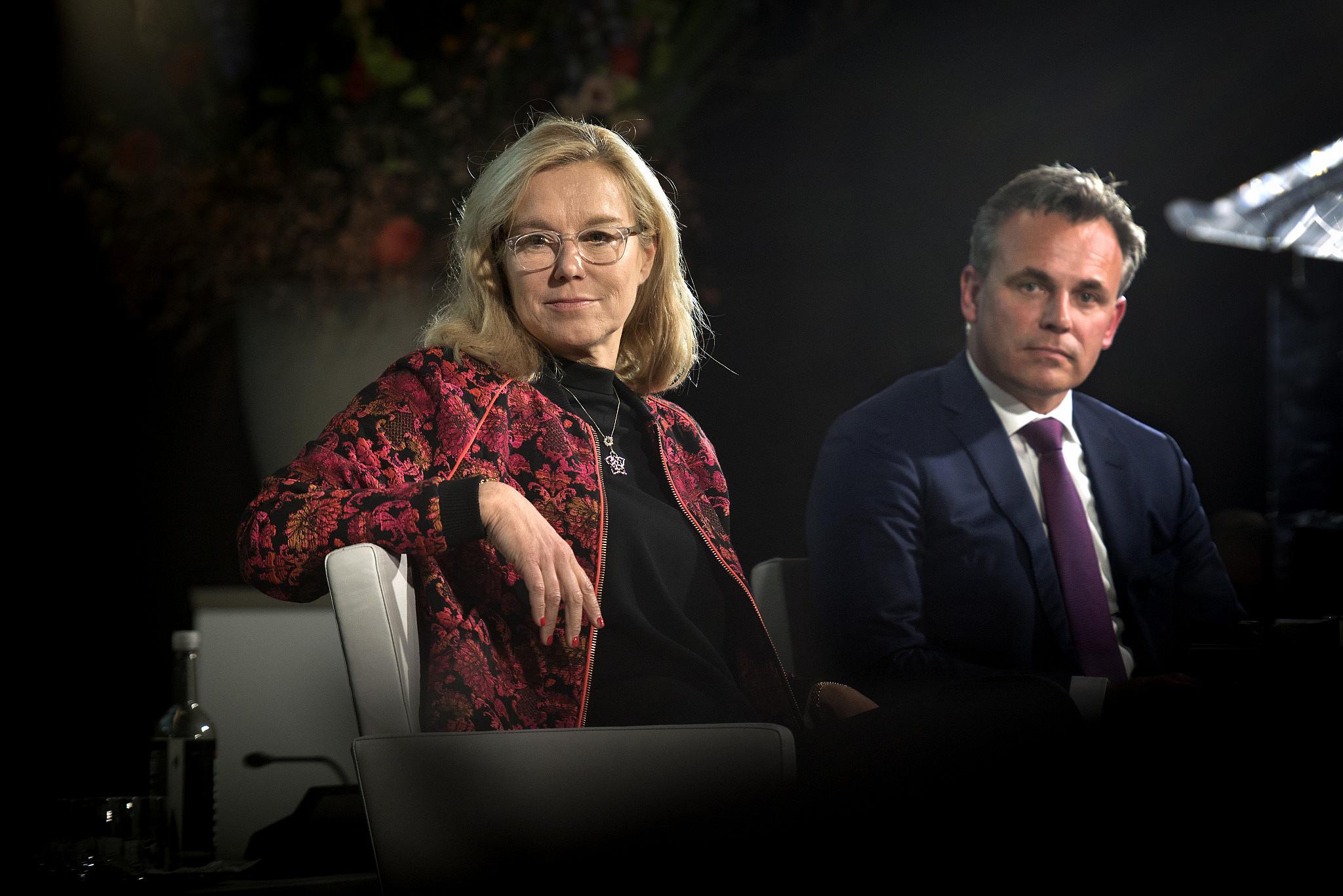 Sigrid Kaag at the Dutch Ambassadors Conference, Jan. 29, 2018. (Ministerie van Buitenlandse Zaken/Flickr)