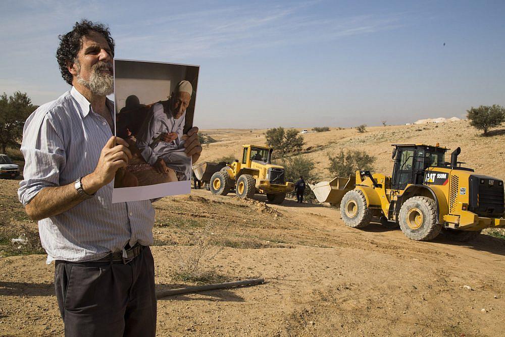 Illustrative photo of Rabbi Arik Ascherman. (Oren Ziv)