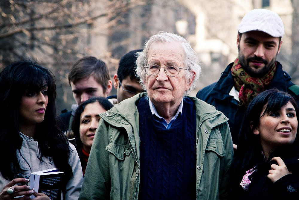 Noam Chomsky: Solidarity movements key to changing US Middle East policy