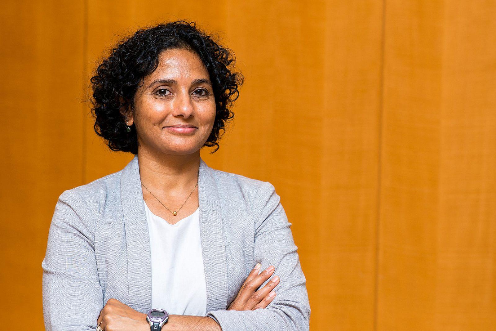 Meera Shah, senior staff attorney at Palestine Legal. (Courtesy of Palestine Legal)