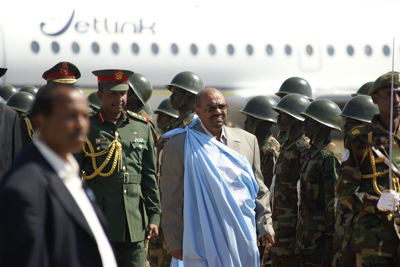 Former Sudanese president Omar al-Bashir arrives in Juba, present-day South Sudan. Jan. 4, 2011. (Al Jazeera English/Flickr/Creative Commons)