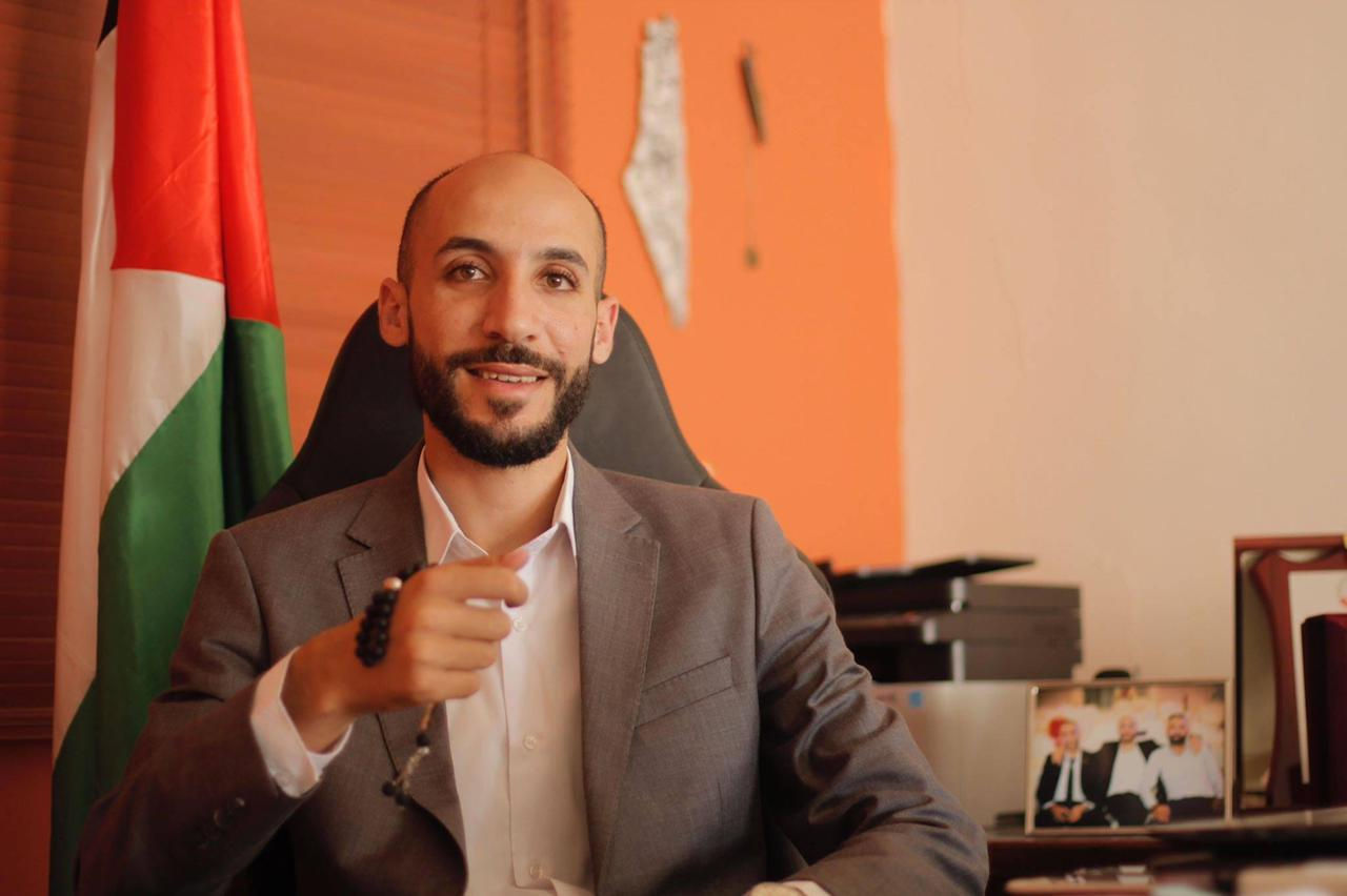 Anas Osta, the head of the youth-focused Nabd al-Balad list running in Palestinian parliamentary elections that are slated for May 22. (Courtesy of Anas Osta)