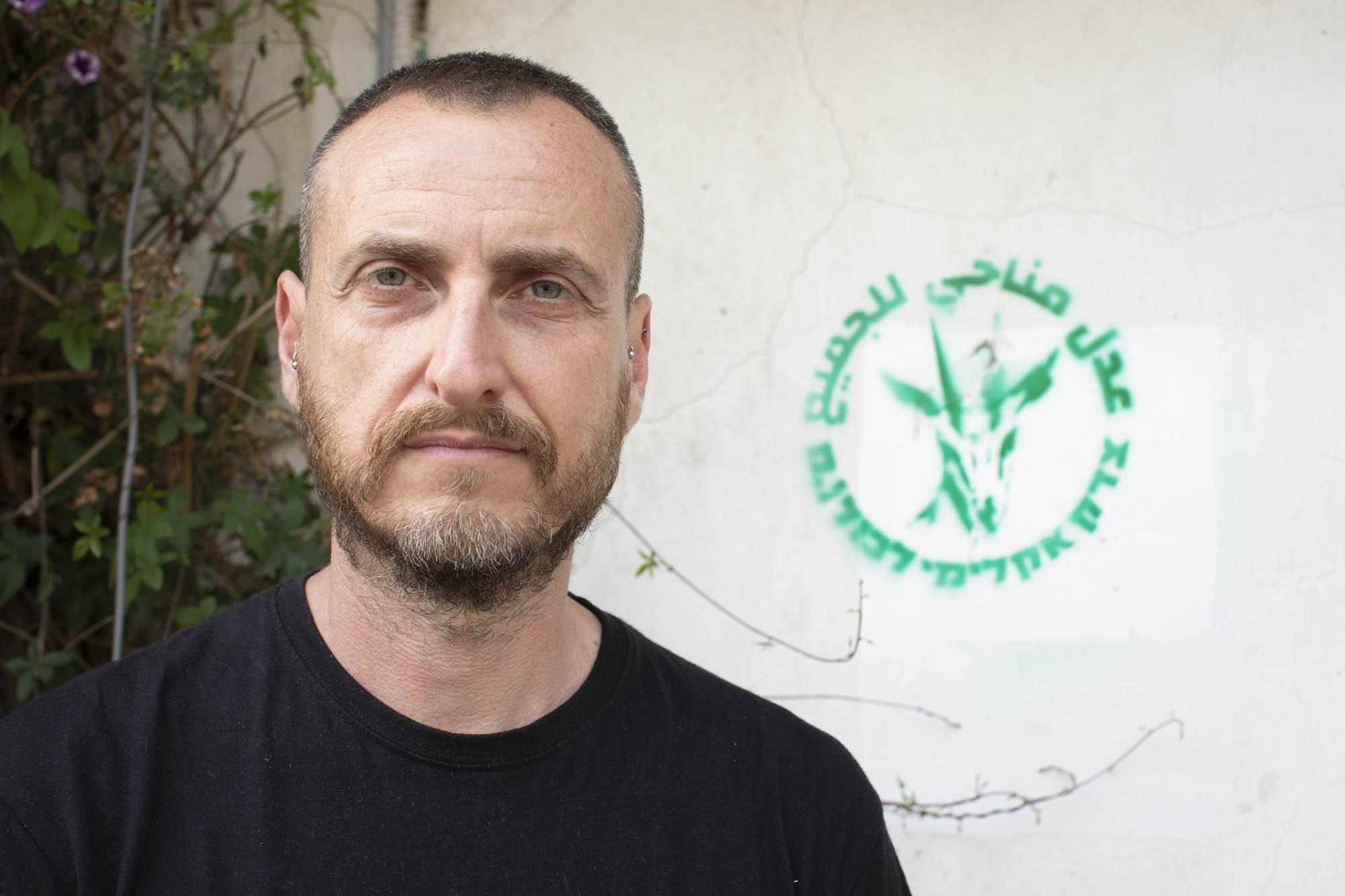 One Climate co-founder Mor Gilboa. (Oren Ziv)