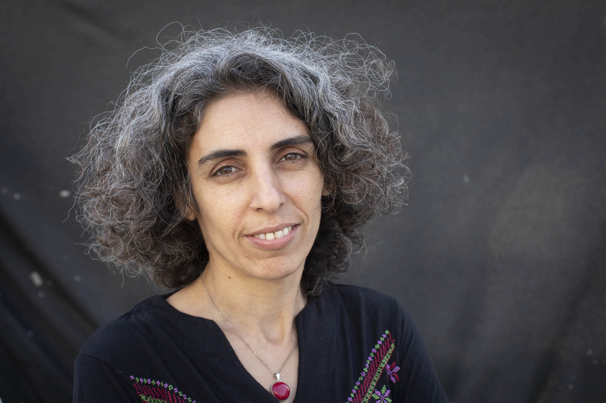 One Climate co-founder Muna Shaheen. 'Colonialism combined with capitalism creates a situation that allows the Israeli government to take more advantage of resources, and we are located in a very sensitive, endangered area.'