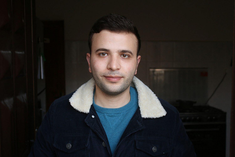 Emadaddin Takroori, a Palestinian civil engineer. (Activestills)