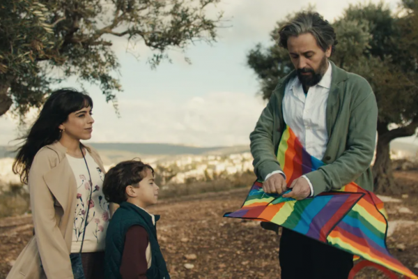 """A still from the film """"Let It Be Morning,"""" directed by Eran Kolirin, based on the book by Sayed Kashua. (Courtesy of Dori Media/Les Films Du Poisson)"""